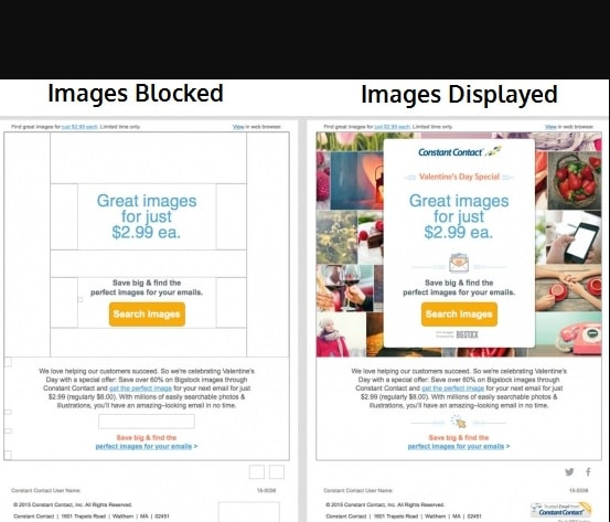 images blocked