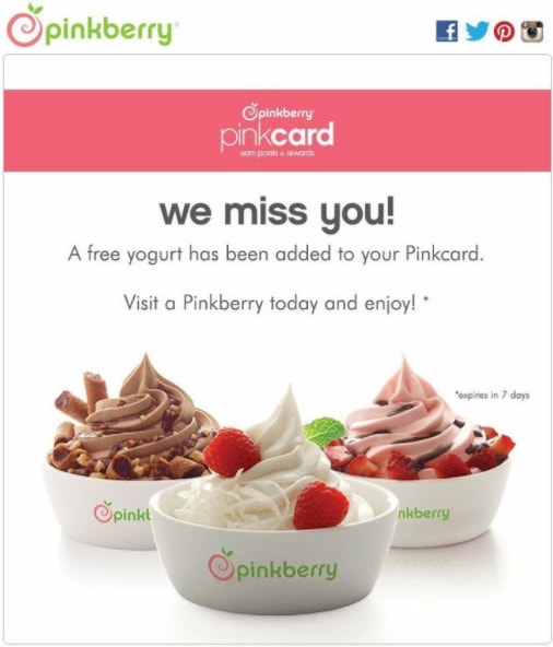emotional appeal pinkberry